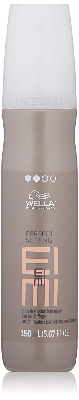 誘惑確かめる万歳Wella EIMIパーフェクト設定フェラドライローションヘアスプレー150ミリリットル/ 5.07オンス 5.07オンス
