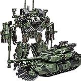 CLNAONG Deformación, Transformación Juguetes Brawl KO Aleación SS Líder Camuflaje M04 Tanque M1A1 Modo Modo Figura Robot Modelo Colección Regalos