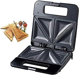 Totasters Sandwich Grille-Pain à Sandwich 750W Gril électrique sans fumée Panini Press Sandwich Maker avec Cuisson antiadh...