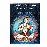 Buddha Wisdom Shakti Power Deck, Divinación del Destino Papel Holográfico, Juegos De Mesa Inglesa, Tarjetas De Juego De Fiesta, Buenos Regalos para Parientes O para Usted (Bolsas, Manteles)