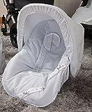 Babyline Bombón - Colchoneta para silla grupo 0, color gris