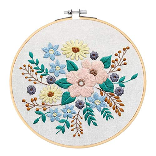 Colcolo Embroidery Starter Kit Full Range of Cross Stitch Kits for Beginner Kids Adults