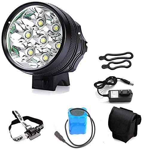 CYKJ Luces de Bicicleta Light 7T6 LED de Alta Potencia LED Faro de Bicicletas Recargables Luces de Bicicletas de montaña Luces de Ciclismo