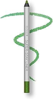 WUNDER2 Super-STAY LINER Makeup Eyeliner, kreski na powiece wodoodporne, długo przylegające, odcień Glitter Green Apple