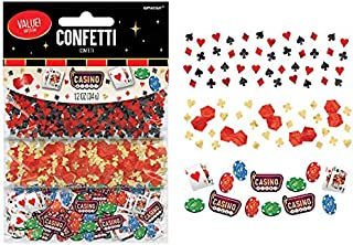 Casino Party Confetti, 1.2 oz.
