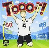 Tooor! Fußballprofis ausmalen: mit 50 Fußball-Sticker