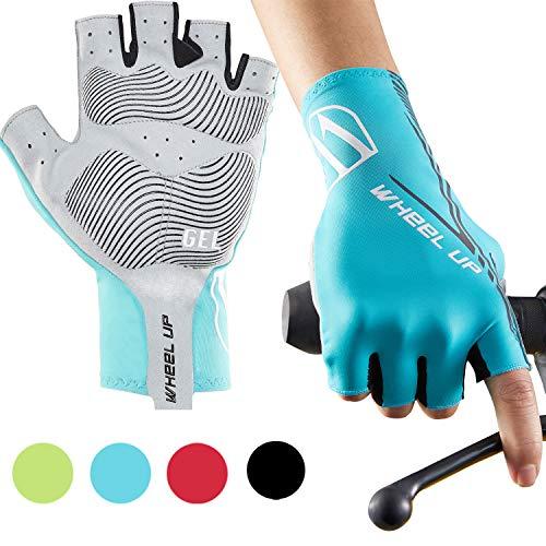 Hikenture Gants de cyclisme semi-finger, vélo de course /...