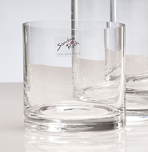 glazen vaas CYLI cilinder 10cm