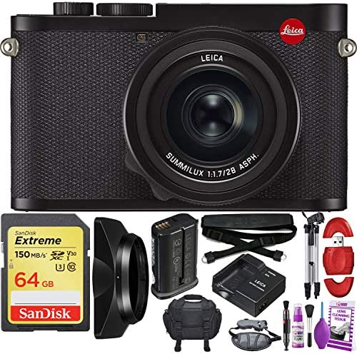 Leica Q2 Digital Camera with Summilux 28mm f/1.7 ASPH. Lens – Pro Travel Bundle