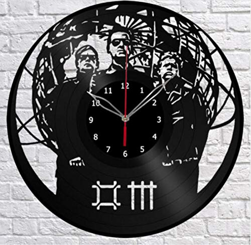WAGUZA Depeche Mode Schallplatte Wanduhr Fan Art Home Decor Original Geschenk