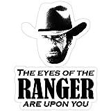 Jess-Sha Store 3 PCs Stickers Walker Texas Ranger Merchandise (Chuck Norris), Walker Sticker for Laptop, Phone, Cars, Vinyl Funny Stickers Decal for Laptops, Guitar, Fridge