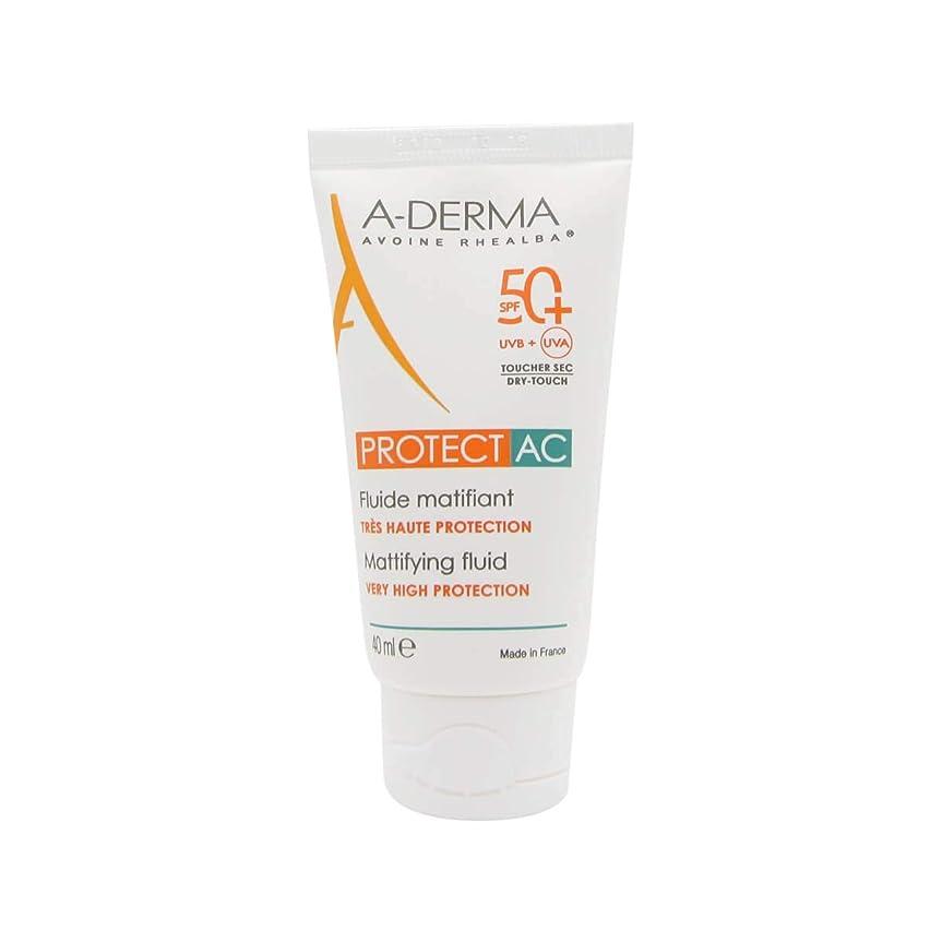 銀アライメント干ばつA-Derma Protect AC Mattifying Fluid SPF50+ 40ml