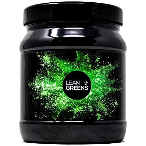 Super Greens Detox Pulver von Lean Greens - 500 g - Schmeckt Wahnsinnig Gut