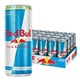 Red Bull Sugarfree, Bebida energtica - 24 de 250 ml. (Total 6000 ml.)