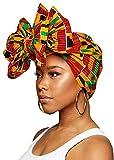 Ankara African Print Soft Headwraps Headband...