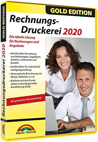 Markt & Technik Rechnungsdruckerei 2020 Gold Edition Vollversion