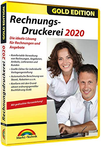 Markt & Technik Rechnungsdruckerei 2020 Gold Edition Vollversion