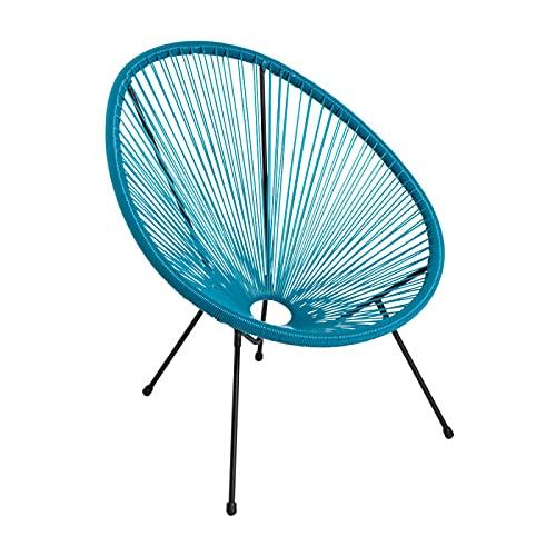 Regalos Miguel - Sillas Comedor - Silla Karibic - Verde Azulado - Envío Desde España