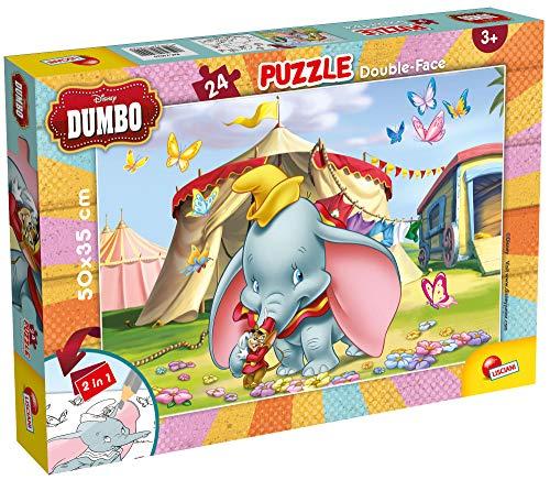 Lisciani Giochi- Disney Puzzle DF Plus 24 Dumbo, Multicolore, 74020