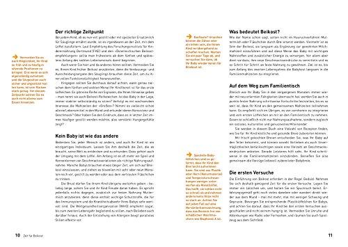 Babybrei: Der sichere Einstieg in die Beikost. Informationen, Empfehlungen, die besten Rezepte - 3
