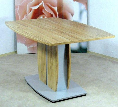 Säulentisch Kernbuche Esstisch Esszimmertisch Tisch Esszimmer Melamin modern