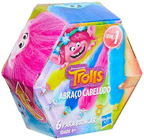 Brinquedo Bracelete Abraço Cabeludo Surpresa Trolls - E5117 - Hasbro - APENAS 1 (UM) ITEM SORTIDO, NÃO É POSSÍVEL ESCOLHER A COR