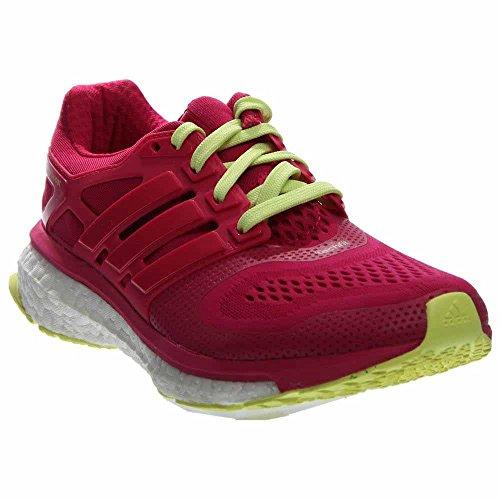 Adidas Energy Boost ESM - Zapatillas de correr para mujer (talla 4), color rosa y amarillo