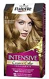 Schwarzkopf Palette Intensive Creme Color – Tono 7.5 cabello Rubio Dorado Caramelo - Coloración Permanente de Cuidado con Aceite de Marula – Óptima cobertura de canas – Color duradero hasta 8 semanas