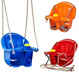 MTS Childrens Childs Toddler Adjustable Outdoor Garden Rope Safety Safe Swing Seat