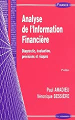 Analyse de l'information financière - Diagnostic, évaluation, prévisions et risques de Paul Amadieu