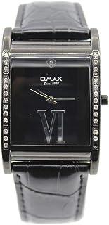 ساعة يد للجنسين من اوماكس ، انالوج بعقارب ، اسود