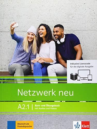 Netzwerk neu A2.1 - Media-Bundle: Deutsch als Fremdsprache. Kurs- und Übungsbuch mit Audios/Videos inklusive Lizenzcode für das Kurs- und Übungsbuch ... (Netzwerk neu: Deutsch als Fremdsprache)