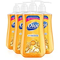 4-Pack Dial Antibacterial liquid hand soap, gold, 11 ounce