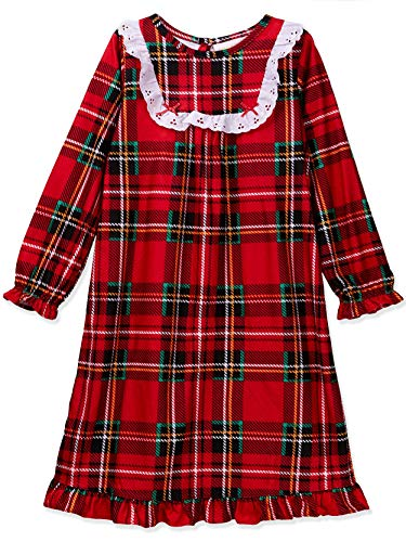 Toddler Girls Plaid Christmas