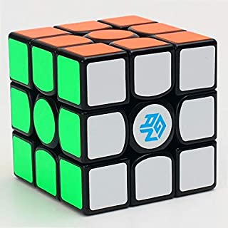 Gan 356 Air Master 3x3x3 Speed Cube, Magic Cube Puzzles Black with New Blue Cores