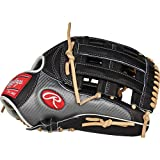Rawlings Heart of The Hide Hyper Shell Baseball Glove, Black/Silver/Camel, 12.75 inch, Pro H Web, Right Hand Throw, PRO3039-6BCF