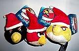 Kurt S. Adler Angry Birds Set of 3 Plush 3.5' Christmas Ornament