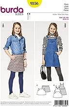 Burda Girls Easy Sewing Pattern 9356 Skirt & Pinafore Dress