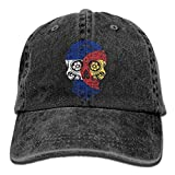 mn Colorado State Flag Sugar Skull Trucker's Cap Baseball Cap Denim Dad Hat Sombreros y Gorras