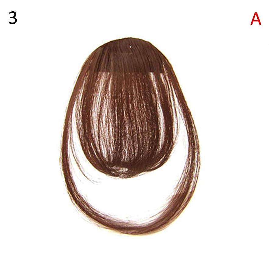 キャベツ余韻固めるslQinjiansav女性ウィッグ修理ツールファッションレディース薄いクリップオンエアバンフロントフリンジウィッグヘアエクステンションヘアピース