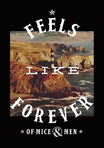 of Mice and Men – Feels Like Forever – poster drapeau – 100% Polyester – Taille 75 x 110 cm