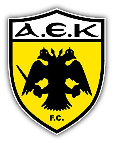 AEK FC Athens Soccer Football Art Decal Bumper Vinyl Sticker