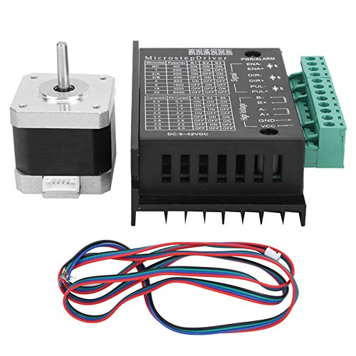 0.4N.M Digital Stepper Motor Driver 17HS4401S+TB6600 Motor Electronic Component for Automated Control System for 3D Printer