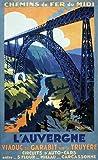 Unbekannt Poster Auvergne Viaduc Garabit, Kunstdruck,