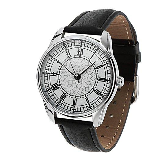 Orologio originale – Cinturino in pelle – Numeri azteci