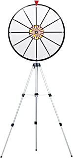 24 Inch White Dry Erase Prize Wheel with Stand By Midway Monsters