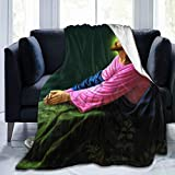 Jesus Christ Praying at Gethsemane Religious Christian Soft Throw Blanket All Season Microplush Warm Blankets Lightweight Tufted Fuzzy Flannel Fleece Throws Blanket for Bed Sofa Couch