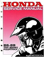 1986 honda trx200sx manual