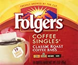 Folgers Coffee Singles (19 per box)