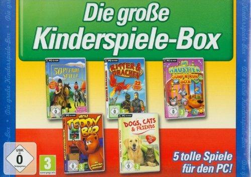 Die große Kinderspiele-Box (5 tolle Spiele für den PC)